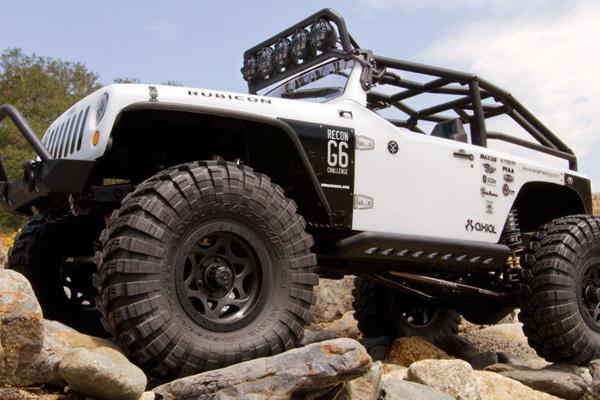 Axial AX90034 SCX10 Jeep Wrangler G6 1/10th Scale Electric 4WD Rock Crawler Kit