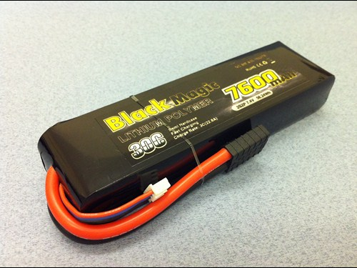 Black Magic LiPo akumulator 2s, 7600mAh, 30C