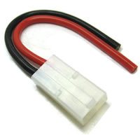 Etronix Female Tamiya Connector With 10cm 14Awg Silicone Wire