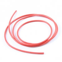 ETRONIX 12swg SILICONE WIRE RED (100cm)