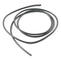 ETRONIX 14swg SILICONE WIRE BLACK (100cm)