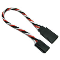 Etronix 7cm 22Awg Futaba Twisted Extension Wire