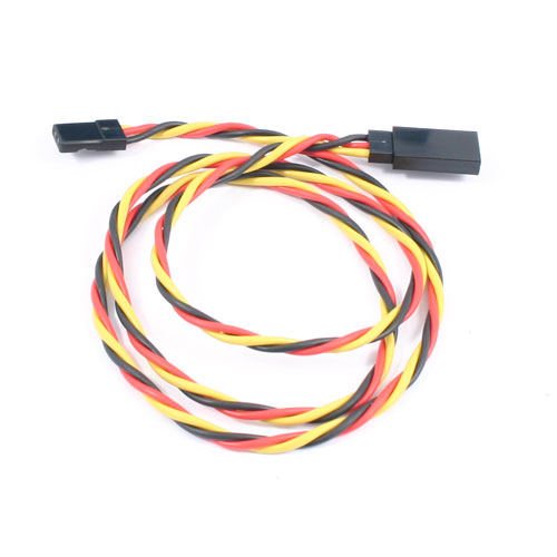 Etronix 60cm 22Awg Jr Twisted Extension Wire
