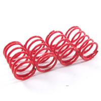 Fastrax 1/10th Hard 24.5MM Red Springs For 55MM Shock