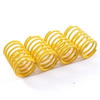 Fastrax 1/10th Soft 24.5MM Yellow Springs For 55MM Shock