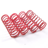 Fastrax 1/10th Hard 45MM Red Springs For 75MM Shock