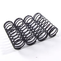 Fastrax 1/10th Medium 45MM Black Springs For 75MM Shock