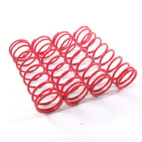 Fastrax 1/10th Hard 55MM Red Springs For 85MM Shock