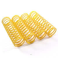 Fastrax 1/10th Soft 55MM Yellow Springs For 85MM Shock
