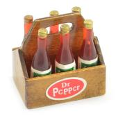 FASTRAX SCALE WOOD CRATE w/SOFT DRINK BOTTLES