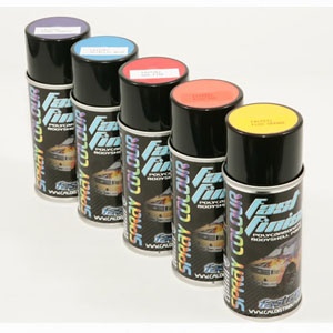 Fastrax barva FAST FINISH FLUO BLUE SPRAY PAINT 150ml