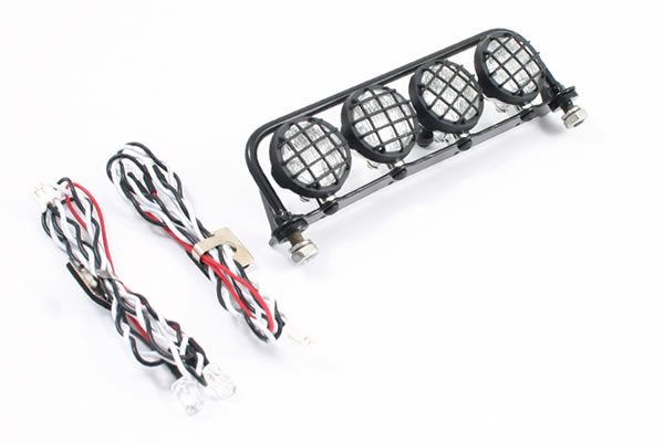 Fast307-3 fastrax LED rampa 109mm, 4 Light Set with Roll Bar 109mm