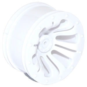 FTX CARNAGE WHEEL 2PCS - WHITE
