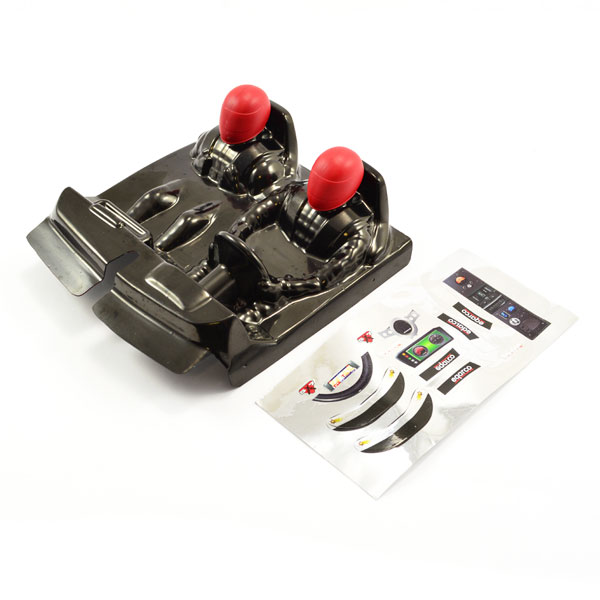 FTX OUTLAW DRIVER COCKPIT W/RED DECALS, FTX8337R