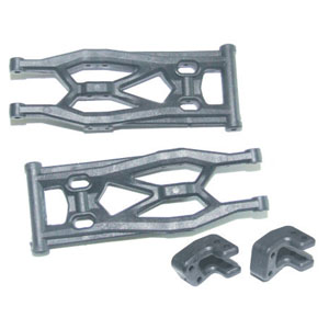 FTX8653 FTX VIPER SUSPENSION ARMS (LOWER REAR)+SHOCK RETAINERS