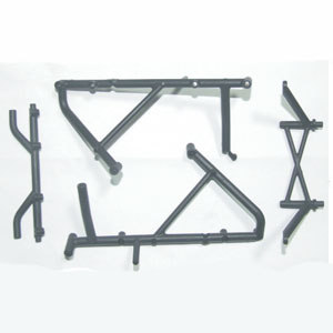 FTX8660 FTX VIPER ROLL CAGE REAR RAILS ASSEMBLY