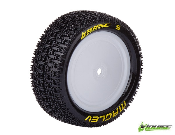 Louise RC E-MAGLEV 4WD Front Tire, Associated B44, Carisma 4XS, 4x4 1/10 buggy disky, predni (2), LRC_L_T3174SWAF