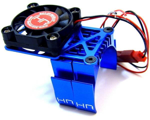Hot Racing MH550TE06 heat sink with Cooling Fan, chladič pro Velineon 2500 Slash, Stampede