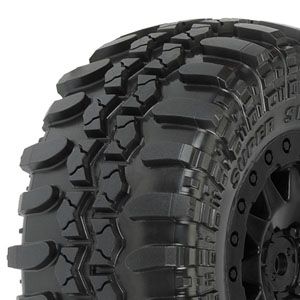 Proline Interco Tsl S.swamper Tyres On Blk F11 Wheels (Sc)