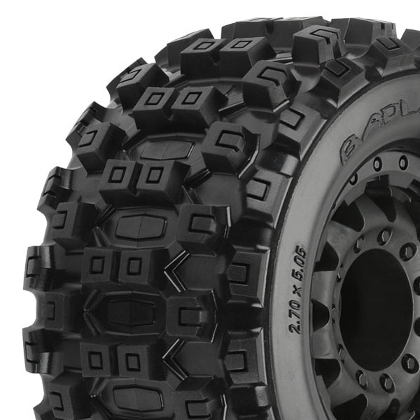 "Proline Badlands Mx28 2.8"" All Terr. Blk F11 Rear Wheel 17mm"