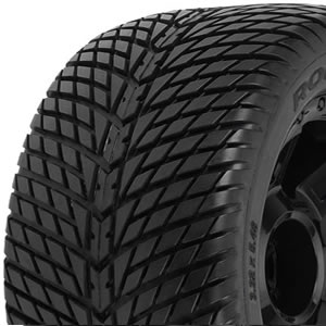 Proline PL1177-11 Road Rage 3.8in Tyres Mounted on Desperado Black 1/2 Offset 17mm Wheels (2)