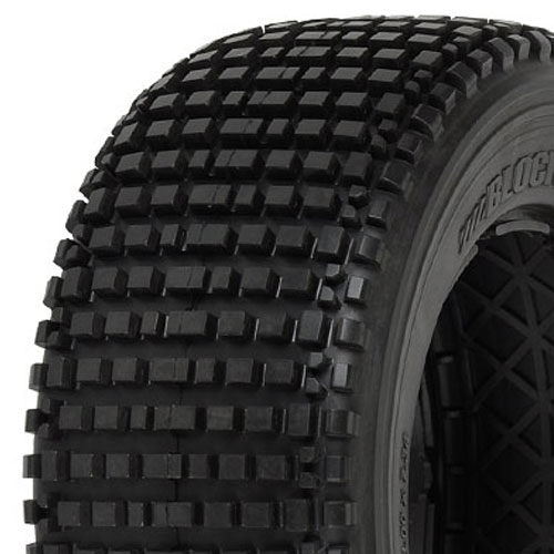 Proline 'blockade' Rear Tyres Xtr For Hpi Baja 5sc (No Foam)