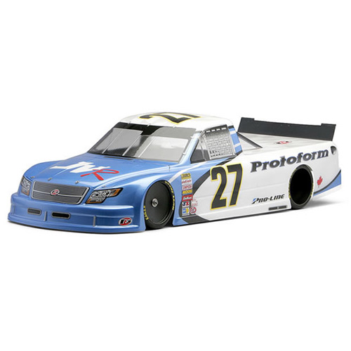 PROTOFORM ORT TRUCK CLEAR BODY for OVAL