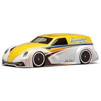 Protoform Socal Panel Wagon Clear Bodyshell For 225mm Mini