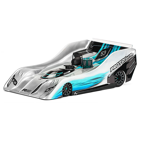 Protoform R19 Body For 1/8th On Road - Ultra Lightweight
