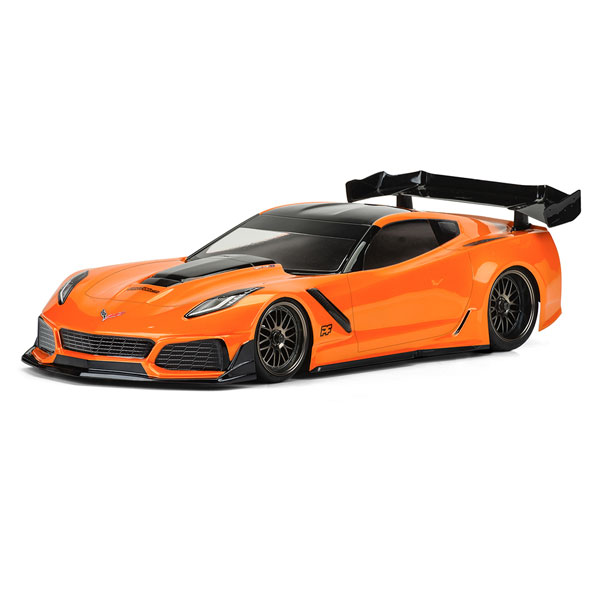 Protoform Chevrolet Corvette Zr1 L/weight Clear Body 190mm