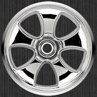 Pro-line Torque 30 Series Wheels - Front, Chrome