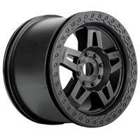 Pro-line 'tech 5' 40 Series Black Wheels Zero Offset 17mm