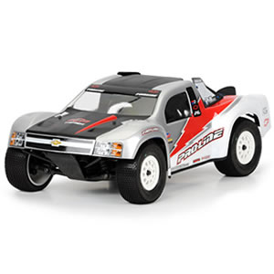 Proline Flo-tek Chevy Silverado 1500 Bodyshell For Slash, Sc10, Blitz
