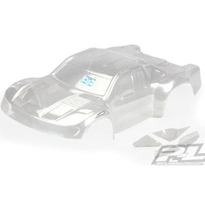 Pro-line Pre-cut Flo-tek Ford F-150 Raptor Clear Bodyshell For Sc10