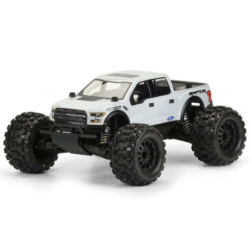 Pro-line 2017 Ford F-150 Raptor Clear Body For Pro-mt