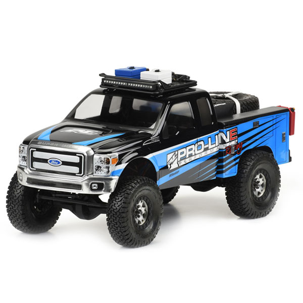 Proline Utility Bed Clear Body For Honcho Style Crawler Cabs