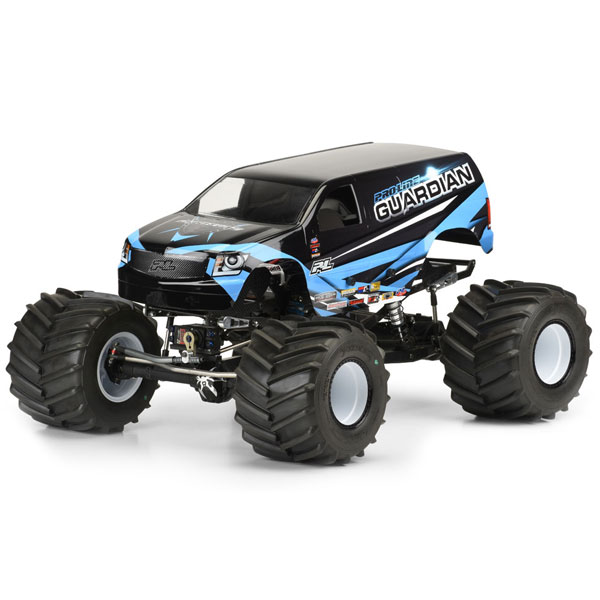 "Proline Guardian Clear Body For Solid Axle Truck/12"" Crawl"