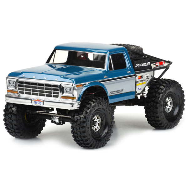 Proline 1979 Ford F-150 Clear Body For Vaterra Ascender