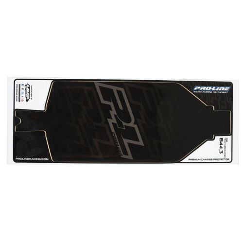 Proline Black Chassis Protector For Associated B44.3