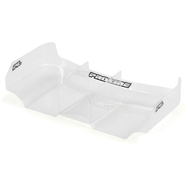 "Proline Air Force 2 L/weight 6.5"" Clear Rear Wing W/fin (2)"