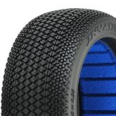 PROLINE 'INVADER' S4 S/SOFT 1/8 BUGGY TYRES W/CLOSED CELL