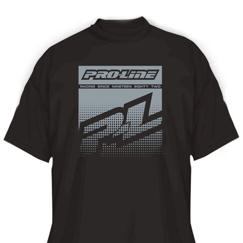 Proline Half Tone Black T-shirt (L)