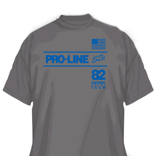 Proline Factory Team Grey T-shirt (S)