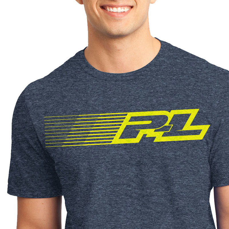Proline Linear Navy Blue T-shirt (M)