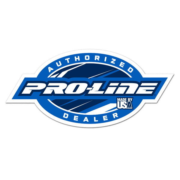 Proline Authorised Dealer Decal