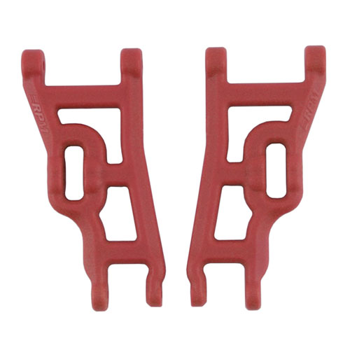 RPM ELEC. RUSTLER & STAMPEDE FRONT ARMS RED