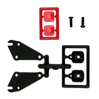 RPM Tail Light Set For RPM Slash Rear Bumper W/O Led'S
