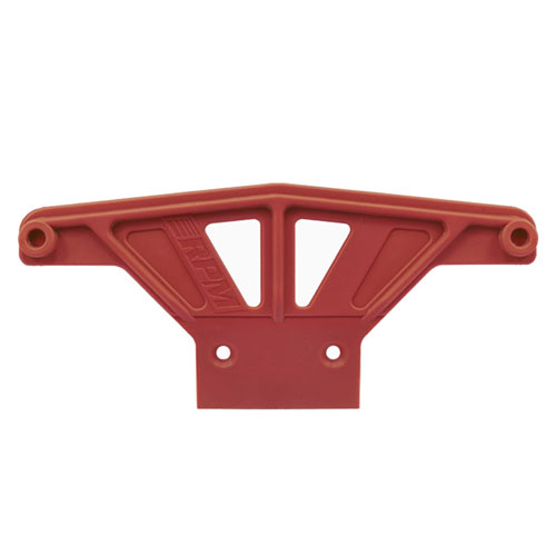 RPM WIDE FRONT BUMPER FOR TRAXXAS RUST/STAMPEDE - RED