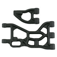 RPM RPM HPI Baja 5B and 5T Rear Upper and Lower Arms Black