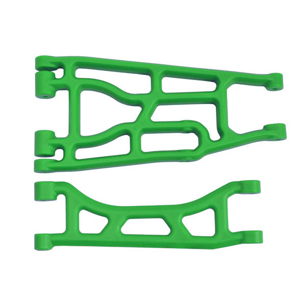 RPM TRAXXAS X-MAXX UPPER & LOWER A-ARM GREEN